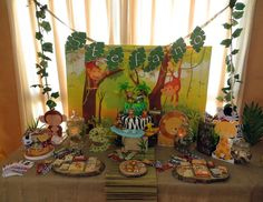 Jungle Baptism Party Ideas | Photo 4 of 21