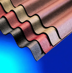 Corrugated Bitumen Roof Sheet 2m Red   eBay