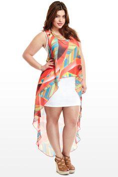 Prism Combo Dress
