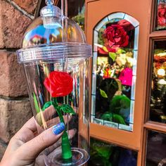 "6 Secrets This Guy Who Played Goofy Wants You To Know About Disney World These ""Beauty and the Beast� Cups Are Creating Massive Lines At Disneyland – Enchanted Rose Cups Souvenirs Disney Dumbo, Disney Love, Disney Magic, Disney Pixar, Disney Stuff, Disney Characters, Disney World Vacation, Disney Vacations, Walt Disney World"