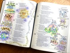 Sketching in Psalm 121 with Krista Hamrick. Gorgeous illustrations!!