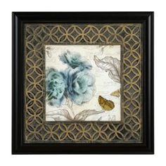 Teal Blossoms II Framed Art Print | Kirklands