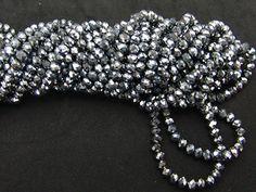 teenex.mx - Cristal Aleman l Plateado | Rondel | Facetado I 8  mm | Se vende por tira de 40 cm aproximadamente, $16.00 (http://teenex-mx.mybigcommerce.com/cristal-aleman-l-plateado-rondel-facetado-i-6-mm-se-vende-por-tira-de-40-cm-aproximadamente/)