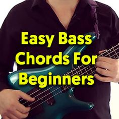 This lesson covers some easy chord voicings for getting started with chords on bass … Bass Guitar Scales, Bass Guitar Notes, Bass Guitar Chords, Learn Bass Guitar, Learn To Play Guitar, Guitar Pedals, Guitar Wall, Guitar Lessons For Kids, Bass Guitar Lessons