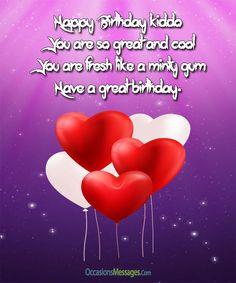 happy birthday messages for girls birthday pinterest happy