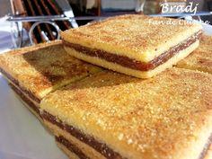 Bradjes ou carrés de semoule aux dattes - Fan de cuisine