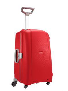 Aeris Red 68cm #Samsonite #Aeris #Travel #Suitcase #Luggage #Strong #Lightweight #MySamsonite #ByYourSide