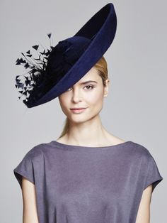 Feather burst Up Turn | Juliette Botterill Millinery AW 2014