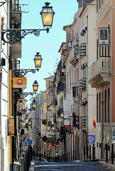 Bairro Alto, Lisbon, Portugal / Love Lisbon and it's people are so friendly. Sintra Portugal, Visit Portugal, Spain And Portugal, Portugal Travel, Places Around The World, Travel Around The World, Around The Worlds, Places To Travel, Places To See