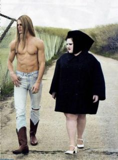 """a-state-of-bliss: """"Pop Magazine 'Size Zero' - Beth Ditto by Steven Klein """" Beth Ditto, Photo Couple, Couple Photos, Pop Magazine, Odd Couples, Happy Couples, Famous Couples, Size Zero, Star Crossed"""