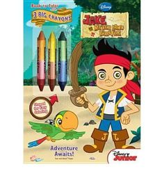 Jake And The Never Land Pirates Coloring Book