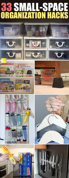 33 Sneaky Small-Space Organization Hacks