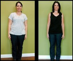 Most body fat loss in a month