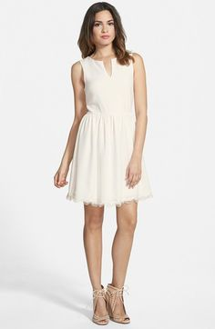 EVERLY+Notch+Neck+Skater+Dress+available+at+#Nordstrom
