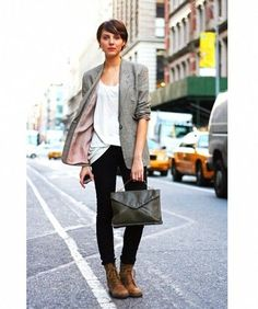 clothes to wear with a pixie haircut - Google Search