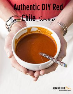 This authentic DIY red chile sauce will change your cooking. Smother it on enchiladas, burritos, tamales, Huevos Rancheros or calabacitas for a burst of flavor or to kick up any dish. Tastes just like a New Mexican restaurant and will not disappoint. Freezer and vegetarian friendly.