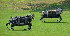 Le LS3 de Boston Dynamics bientôt à l'épreuve des balles
