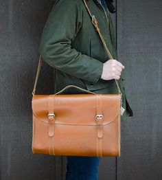 Leather Messenger Bag by Margaret Vera on Scoutmob Shoppe