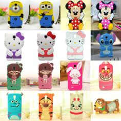 3D Cute Animal Cartoon Disney Silicone Case Cover for Samsung GALAXY S4 i9500 #Smartphone #Cover #Case