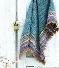 Crochet Shawl Sunday Shawl