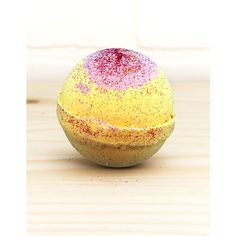 Makerskit Pina Colada Bath Bomb ($5.99) ❤ liked on Polyvore featuring beauty products, bath & body products and body cleansers
