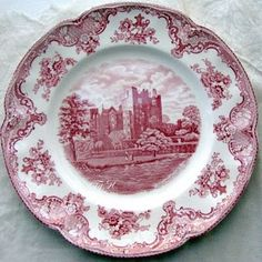 This is my china set...Old British Castle by Johnson's Brothers....I love everything vintage, especially plates.
