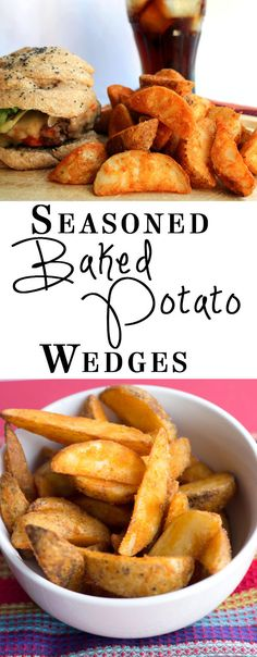 Erren's Kitchen - This super simple recipe for Seasoned Baked Potato Wedges is a great recipe for fussy kids. It turns an ordinary potato into delicious homemade wedges that will top any store bought oven fry by a mile!