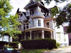 Holyoke, MA   $50,000   6 BDRM/4 BATHS   4,118 sf also has 6 stall detached garage and parking lot. Built in 1900.