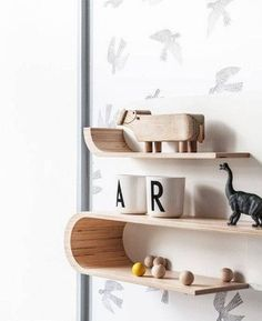 DOMINO:20 kid room shelves with styling you'll want to copy