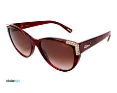 d8dca45d176ea Lunettes de soleil Chopard SCH 105 SAcétate Bordeaux marbré - 168.48 EUR
