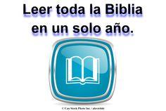 Leer toda la Biblia en un solo año. Encuentra un programa de lectura PDF aquí: www.jw.org/es/publicaciones/libros/?start=36