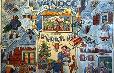 Winter Christmas, Merry Christmas, Xmas Cards, Roman, The Past, Clip Art, Retro, Illustration, Prints