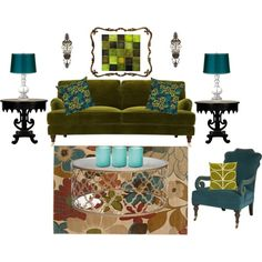 """living room idea"" by violetfemme-71 on Polyvore"