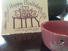 A doodled birthday card for adora-dog Lilly to match her new princess food bowl. Food Bowl, 30 Day Challenge, Online Art, Life Is Good, Birthday Cards, Dog, Princess, How To Make, Anniversary Cards