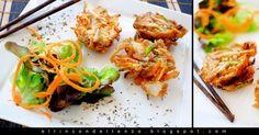 Tempura de verduras #DesafíoCRECE Tandoori Chicken, Ethnic Recipes, Tapas, Appetizers, New Recipes, Healthy Food, Entrees