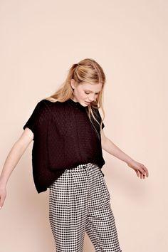 Chemise rimini noir - chemise 100% viscose - des petits hauts 3