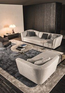 Seymour,  the seating system designed by Rodolfo Dordoni for Minotti