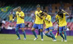 Futebol feminino 2012 - Londres