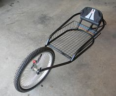 I have long wished I owned one of those fancy B.O.B. Yak trailers. I pedal at least a couple thousand miles a year on my bike. As much as I would love to own a Yak, I have other things I would rather spend $300+ on. This is my first instructable so bear with me if I miss anything. I tried to take photos along the way and I have missed a few at the end. The grinding and prep work for paint and the process of painting itself did not get documented. ...