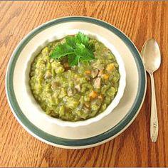 Split Pea and Vegetable Stew