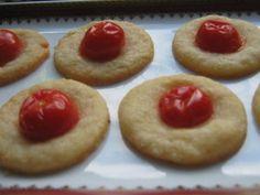 Sablés parmesan tomate cerise pour l'apéro