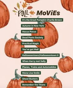 Here is a list of Fall/Halloween movies that are sure to get you in that Autumn mood ? Here is a list of Fall/Halloween movies that are sure to get you in that Autumn mood ? Halloween Tags, Fall Halloween, Halloween Movies List, Halloween Bucket List, Halloween 2019, Herbst Bucket List, Autumn Bucket List, Autumn To Do List, Helloween Party