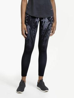 reputable site 30a6f d1c76 Ronhill Momentum Running Tights, Grey at John Lewis  Partners