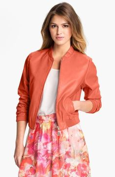 Bomber Jackets Fashion Trends For Spring 2014 on Modern Magazin Cool Outfits, Fashion Outfits, Jackets Fashion, Amazing Outfits, Women's Fashion, Animal Print Skirt, Lace Up Booties, Spring Fashion Trends, Stripe Skirt