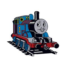 THOMAS The Tank Engine Machine Embroidery Design by BeStitches