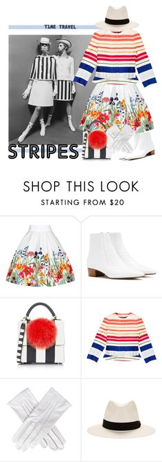 """Time Travel - Then and Now!"" by no-where-girl ❤ liked on Polyvore featuring The Row, Les Petits Joueurs, STELLA McCARTNEY, Black, rag & bone and BoldStripes"