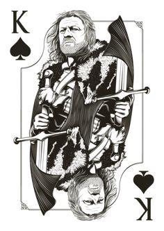 A Deck of Thrones #cards #gameofthrones #geek