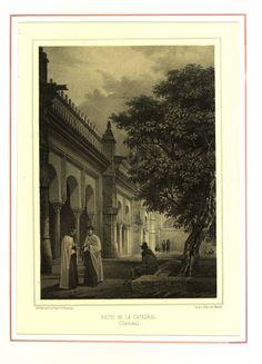 Patio de la Catedral (1855)