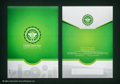 طراحی و چاپ پاکت A4  Identity design #graphic_design #pocket #corporation #Identity