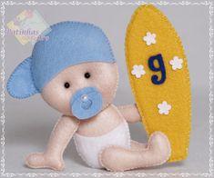 Felt Name Banner, Glue Art, Felt Baby, Felt Decorations, Felt Patterns, Baby Kind, Felt Toys, Felt Ornaments, Baby Sewing
